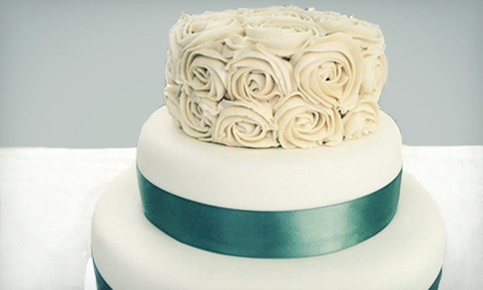 Cupcasions - Central City: Three-Tiered Wedding Cake or $6 for $12 Worth of Cupcakes at Cupcasions