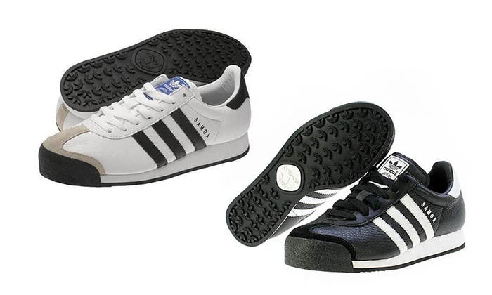 Baskets Adidas modèle Samoa | Groupon Shopping
