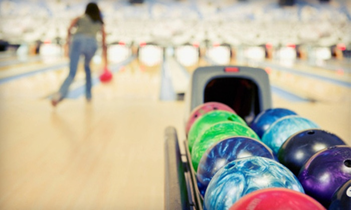 Delaware Lanes - Delaware: Bowling with Shoes for Two, or Bowling with Shoes and Pizza for Four at Delaware Lanes (Up to 60% Off)