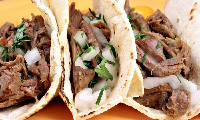 Taco Shop - Hialeah: Mexican Food at Taco Shop (48% Off). Three Options Available.