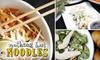 Nothing But Noodles- El Paso - El Paso: $5 for $10 Worth of Noodles & More at Nothing but Noodles