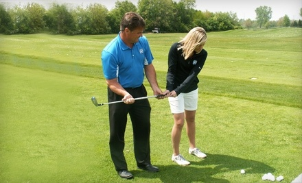 Mistwood Golf Club: 1-Hour Private Lesson, Including an Unlimited Supply of Range Balls - Mistwood Golf Club in Romeoville