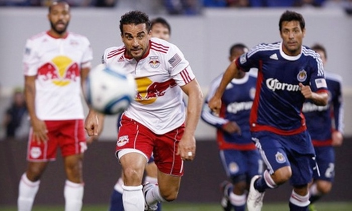 New York Red Bulls - Harrison: $18 for One Ticket to New York Red Bulls Game on Friday, June 10, at 8:30 p.m. and $5 Snack Voucher in Harrison ($38 Value)