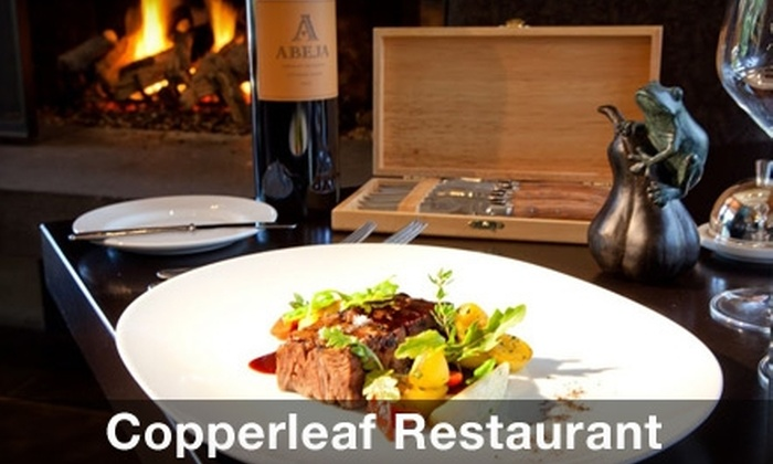 Copperleaf Restaurant - SeaTac: $25 for $50 Worth of Northwest Fare and Drinks at Copperleaf Restaurant
