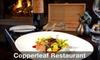 Cedarbrook Lodge - Copperleaf Restaurant - SeaTac: $25 for $50 Worth of Northwest Fare and Drinks at Copperleaf Restaurant