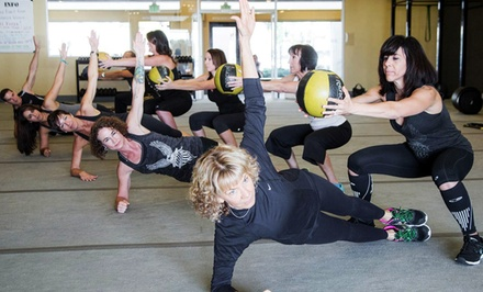 Boot-Camp Sessions with Optional 28-Day Weight-Loss Challenge at So Cal Boot Camp (Up to 84% Off).