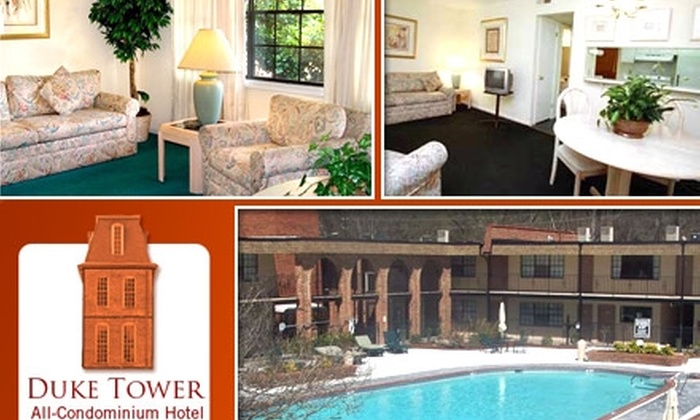 Duke Tower All-Condominium Hotel - Downtown: $39 for a Weekend One-Night Stay at Duke Tower All-Condominium Hotel ($85 Value)