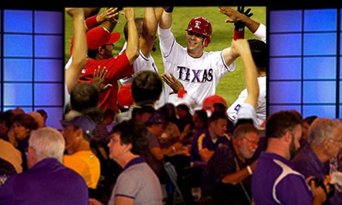 1010 Collins Entertainment Center - Murray Estates: World Series Watching Party for Two at 1010 Collins Entertainment Center in Arlington (54% Off). Two Games Available.