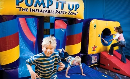 Pump It Up: 10 Pop-In Playtime Visits for Children Ages 2-6 - Pump It Up in Evansville