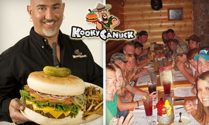 Kooky Canuck - Downtown Medical Center: $7 for $15 Worth of Burgers, Sandwiches, and Drinks at Kooky Canuck
