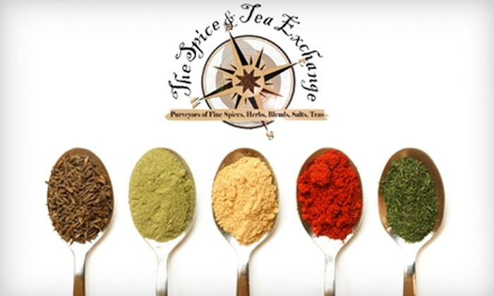 The Spice & Tea Exchange - Fort Worth: $10 for $20 Worth of Spices, Salts, Teas, and More at The Spice & Tea Exchange
