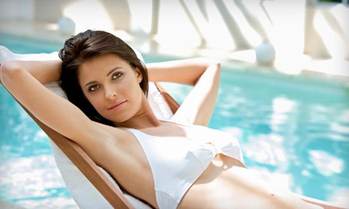 The Skin Clinic NY - Huntington: Six Laser Hair-Removal Treatments on Small, Medium, or Large Area at The Skin Clinic in Huntington
