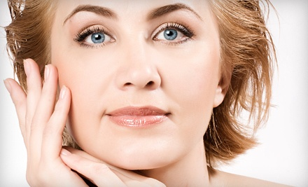 One 30-Minute Microcurrent Face-Lift Treatment (a $295 value) - Maya Medical Center in Toluca Lake