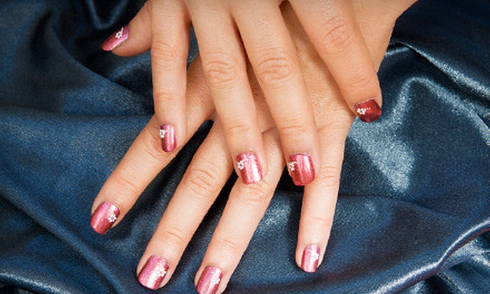 Beautiful Nails - Multiple Locations: One, Three, or Five Deluxe Manicures at Beautiful Nails (Up to 56% Off)