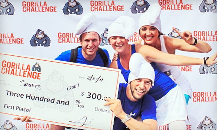 Gorilla Challenge - Second Ward: $25 for One Entry to Gorilla Challenge Urban-Adventure Race (Up to $60 Value)