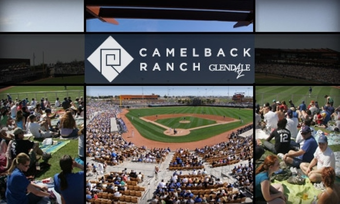 Camelback Ranch, Major League Baseball - Maryvale: $30 for Two Baseline Field Box Spring Training Baseball Tickets at Camelback Ranch ($56 Value). Buy Here for Brewers vs. Dodgers on Thursday, March 25, at 1 p.m. See Below for Additional Games and Prices.