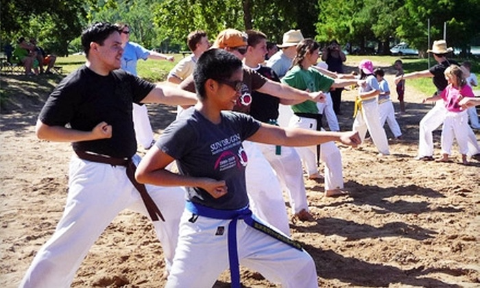 Sun Dragon Martial Arts and Self Defense - Westgate: $65 for One Month of Unlimited Classes at Sun Dragon Martial Arts and Self Defense (Up to $165 Value)