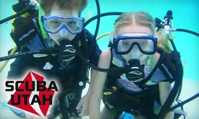 Scuba Utah - Cottonwood Heights: $169 for Open-Water Certification Class at Scuba Utah ($349 Value)