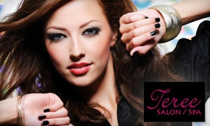 Teree - Auburn: Hair, Nail, and Facial Treatments at Teree Salon and Spa. Choose from Three Options.