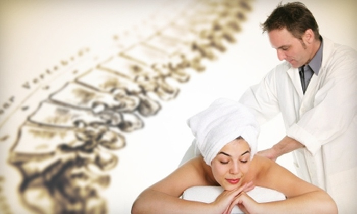 Motion Chiropractic Center - Easthampton Town: $39 for New-Client Evaluation and Individual Office Visit with Adjustment at Motion Chiropractic Center in Easthampton ($125 Value)