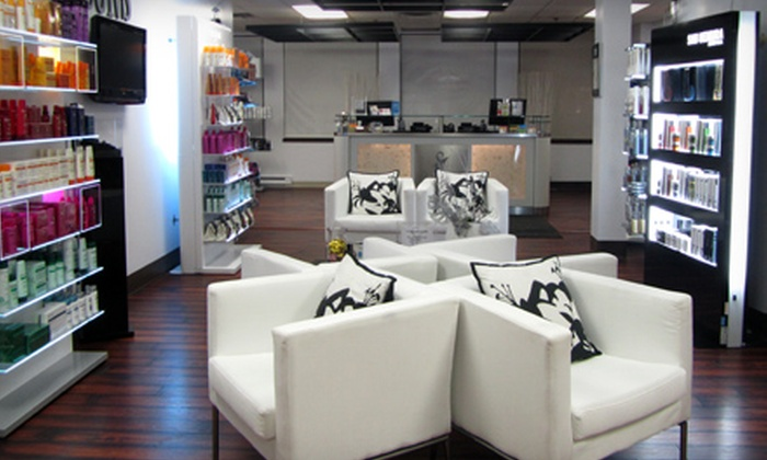 Icons - Downtown: Color Package, Anti-Hair-Loss Package, or 60-Minute Mani-Pedi at Icons (Half Off)