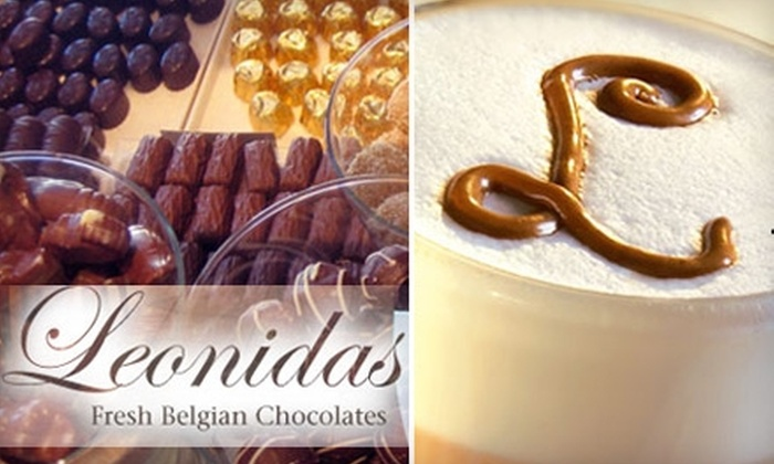 Leonidas Chocolates & Café - Gilbert Ranch: $10 for $20 Worth of Chocolate, Gelato, Sorbetto, Pastries, and Beverages at Leonidas Chocolates & Café