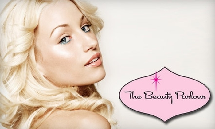 The Beauty Parlour - Appleton: $50 for a Hair Cut, Multi-Dimensional Color, and Eyebrow Wax at The Beauty Parlour