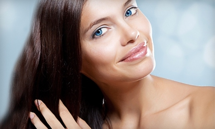Top Image Salon & Spa - Longwood: Nail and Hair Services at Top Image Salon & Spa in Longwood. Three Options Available.