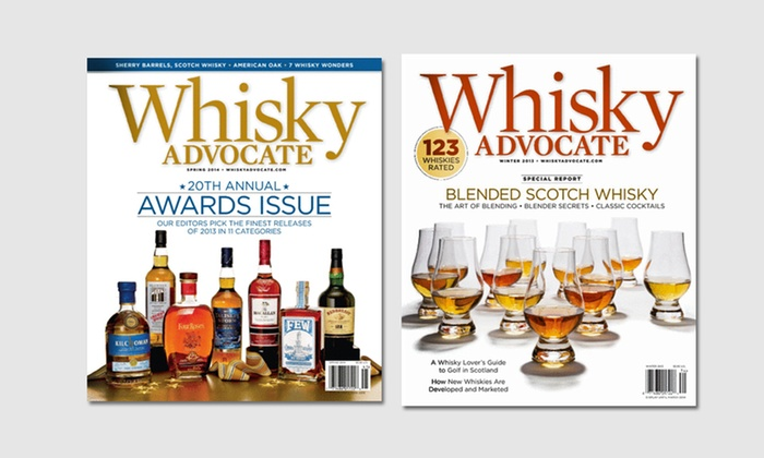 1-Year, 4-Issue Subscription to Whisky Advocate: 1-Year, 4-Issue Subscription to Whisky Advocate