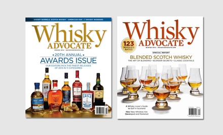 1-Year, 4-Issue Subscription to Whisky Advocate