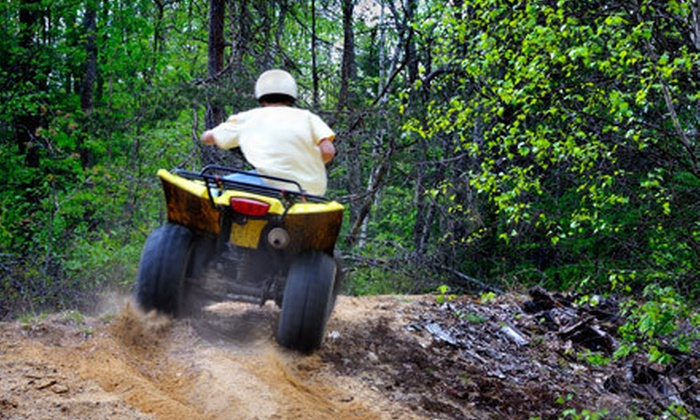 Asheville 4 Wheeler Rentals - Hot Springs: $59 for a Two-Hour ATV Trip for Up to Two People from Asheville 4 Wheeler Rentals in Hot Springs ($190 Value)