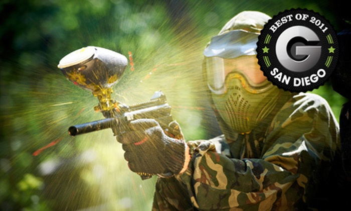 The Paintball Park - Multiple Locations: Paintball Outing with Gear and 200 or 400 Paintballs at The Paintball Park (Up to 60% Off)
