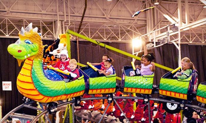 I-X Indoor Amusement Park - Cleveland: $24 for I-X Indoor Amusement Park Outing for Two on Friday, March 23 ($48 Value)