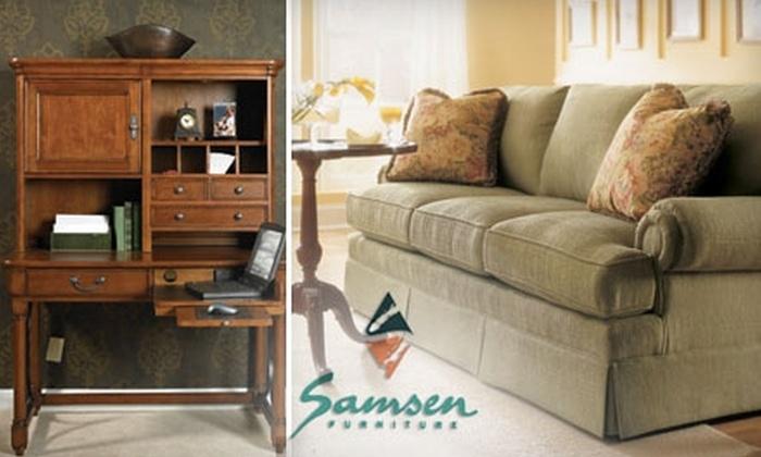 Samsen Furniture - Genoa: $25 for $100 Worth of Home Furnishings at Samsen Furniture