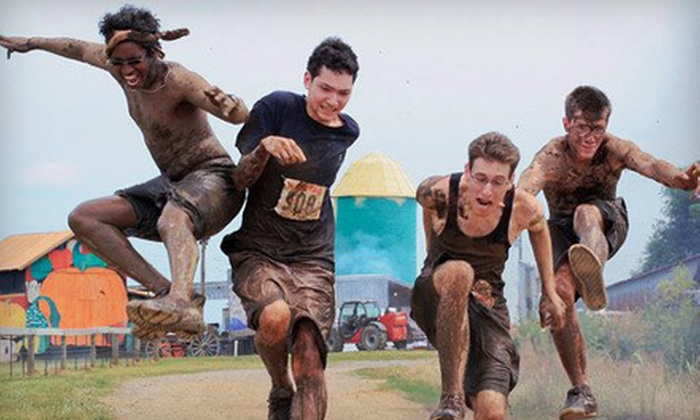 Rebel Race - Manchester: 5K or 15K Obstacle-Course Race from Rebel Race on Sunday, April 15 in Manchester (Up to 51% Off)
