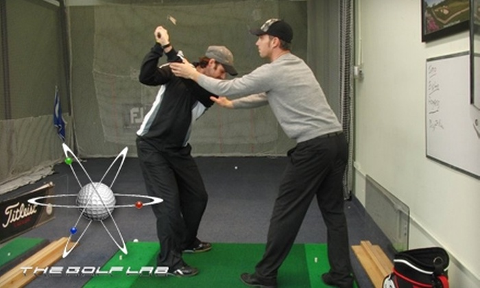 The Golf Lab - 400 West: $45 for a Video Golf Swing Lesson and Consultation at The Golf Lab ($90 Value)