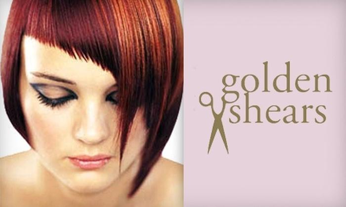Golden Shears Salon & Day Spa - La Luz Del Sol: $29 for a Full-Body Massage ($60 Value) or $99 for a Brazilian Blowout ($200 Value) at Golden Shears Salon & Day Spa