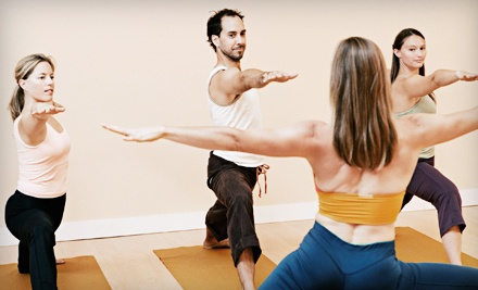5 Drop-In Yoga or Pilates Classes (a $70 value) - Taylor Yoga in Taylor