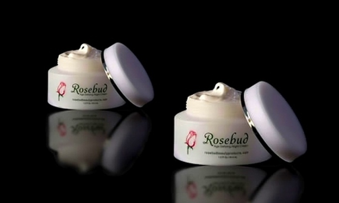Rosebud Beauty Products: $35 for Two Jars of Age-Defying Night Cream from Rosebud Beauty Products