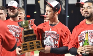 Wichita Wingnuts: $65 for a 10-Game Punch Card to See the Wichita Wingnuts at Lawrence-Dumont Stadium (Up to $130 Value)