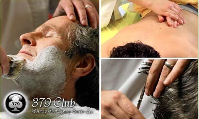 379 Club - Allston: Half-Off at Luxury Barber-Spa 379 Club