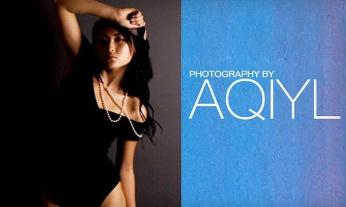 Photography by Aqiyl - Mid-Wilshire: $75 for Photography Session and DVD of Digital Images, Including 20 Digital Retouches, at Photography by Aqiyl (Up to $1,110 Value)