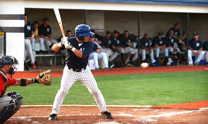 Webster Yankees - Webster: $4 for Two Tickets to Webster Yankees Baseball ($8 Value)
