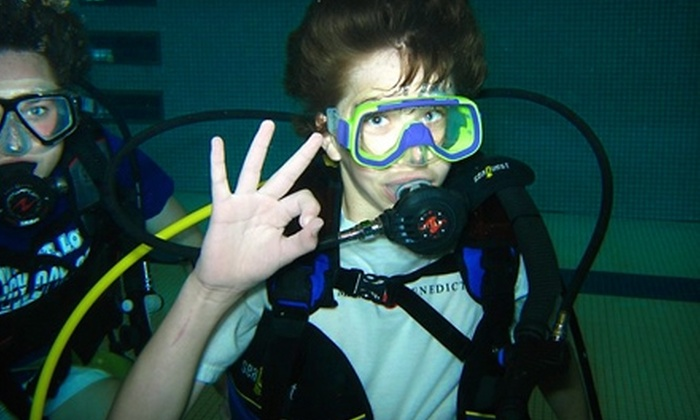 Underwater World - South Central Omaha: $25 for a Discover Scuba Diving Class From Underwater World in Ralston ($50 Value)