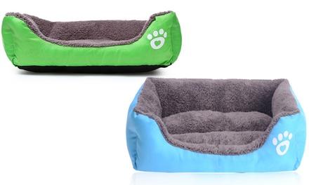 Cuccia divano per animali: Azzurro / L
