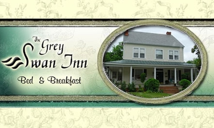The Grey Swan Inn Bed & Breakfast - Blackstone: $105 for One-Night Stay in King Suite ($210 Value) or $80 for One-Night Stay in Queen Suite ($160 Value) at The Grey Swan Inn Bed & Breakfast