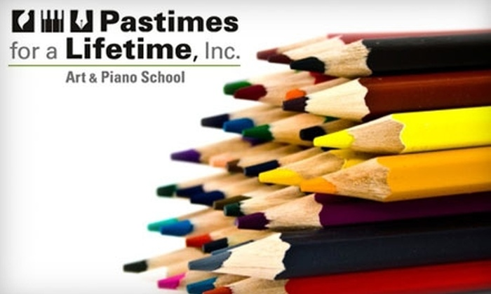 Pastimes for a Lifetime  - North Hollywood: $10 for Intro to Drawing Art Lesson and Project Kit ($20 Value) or $50 for Intro to Drawing Art Lesson, Project Kit, and Four Additional Classes ($100 Value) at Pastimes for a Lifetime in Valley Glen