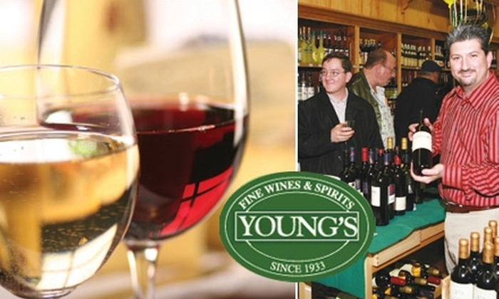 Young's Fine Wines & Spirits - Manhasset: $25 for $50 Worth of Wine & More at Young's Fine Wines & Spirits