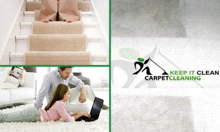 Keep It Clean Carpet Care - Sacramento: $69 for a Multi-Room Carpet or Tile Cleaning from Keep It Clean Carpet Care ($196 Value)