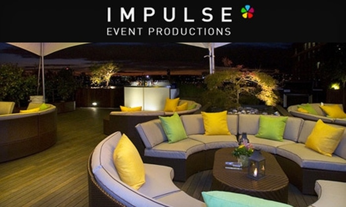 Impulse Event Productions: $100 for $500 Toward Event Services from Impulse Event Productions